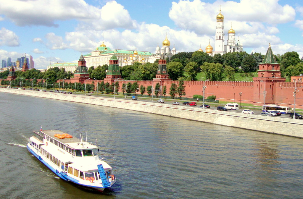 Fun Facts. Kremlin Towers. View on Kremlin from Moskvoretskiy Bridge