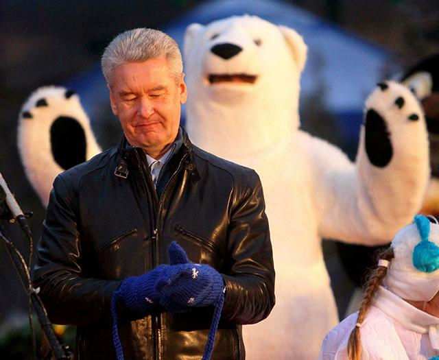 Mayor of Moscow Sergey Sobyanin