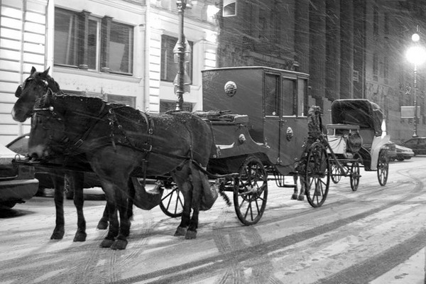 Fun Facts: Ghosts of Moscow. Carriage