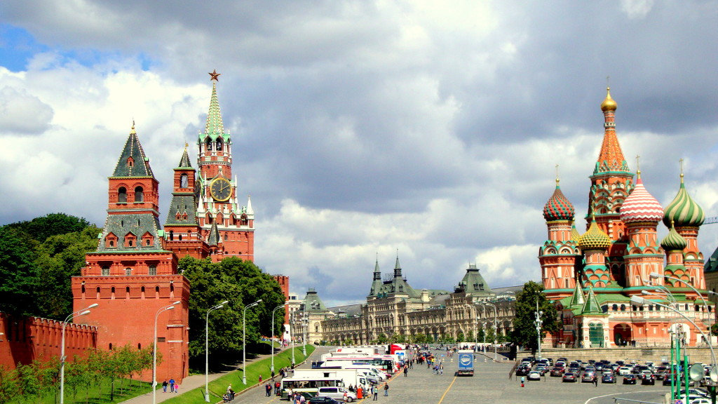 Moscow Tours. Kremlin Tour. Kremlin faces Red Square