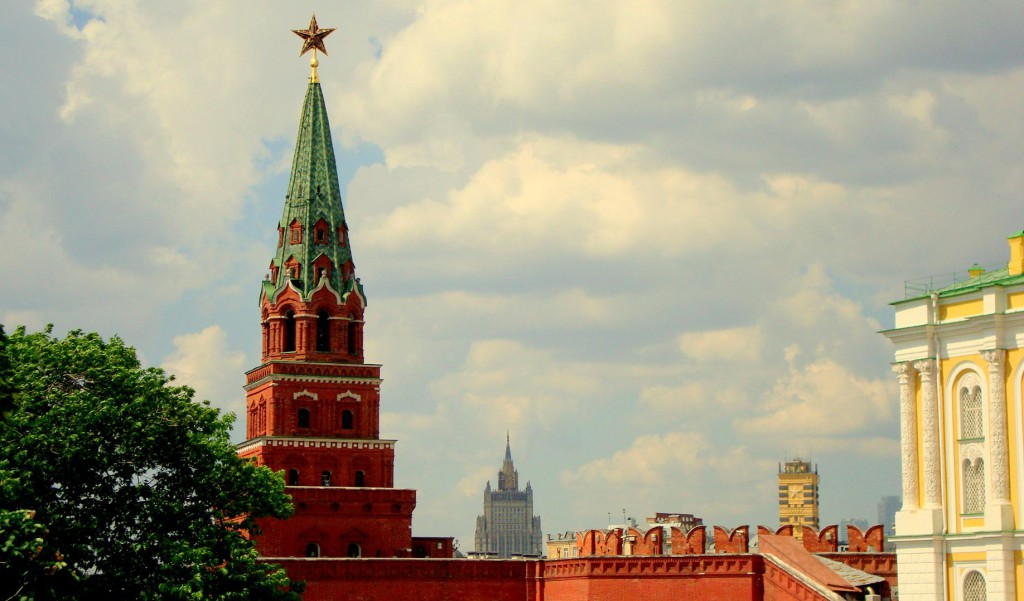 Top sights in Moscow
