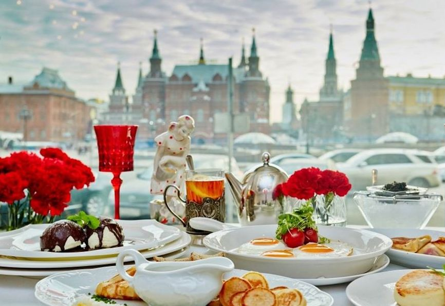 Best restaurants in Moscow. Dr.Zhivago