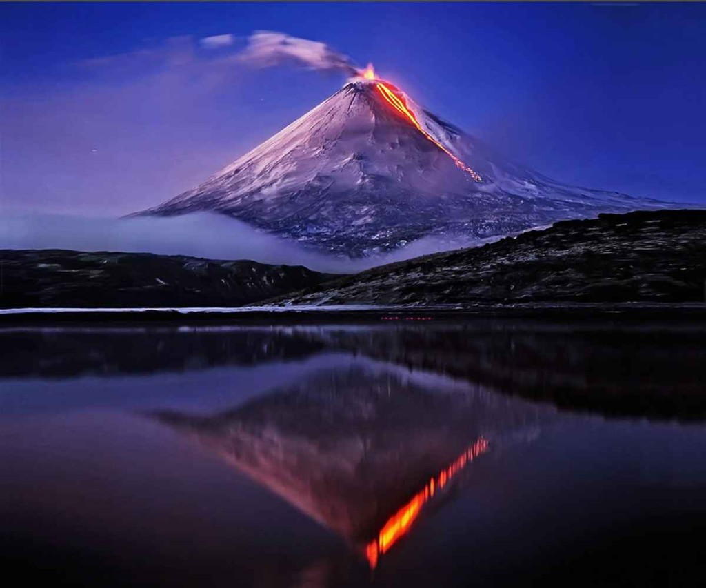 Volcanoes in Russia