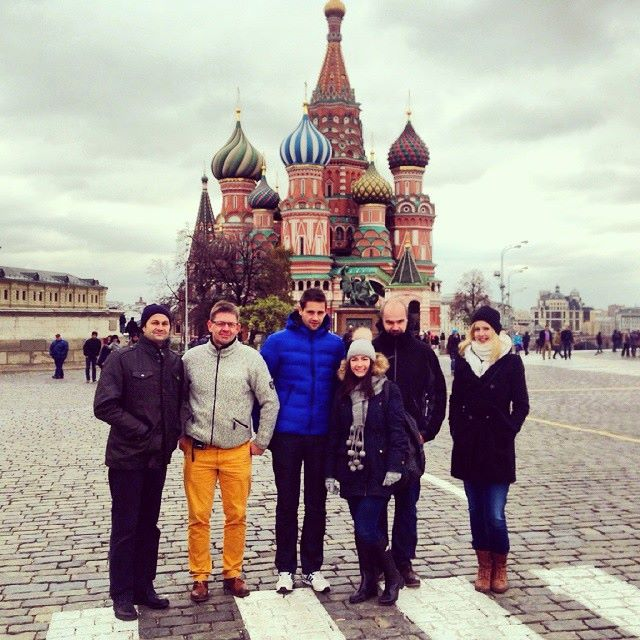 Our private guide on Red Square and Kremlin tour