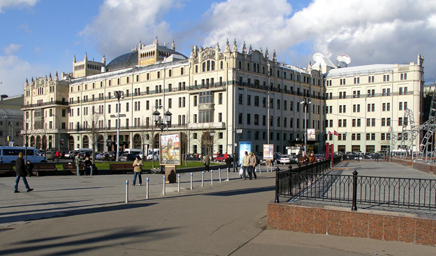 Moscow walking tour in historical downtown