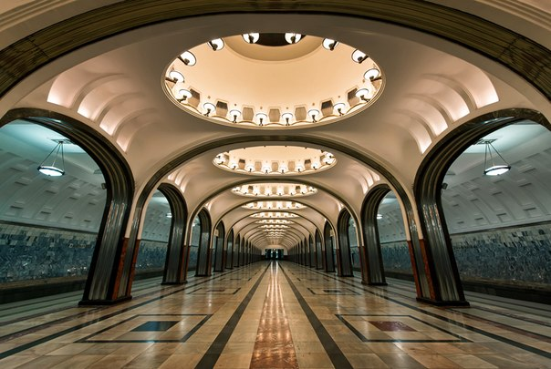 most beautiful underground stations in the world