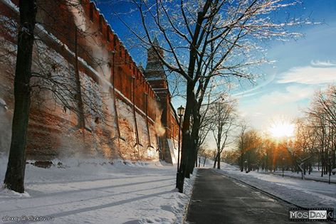 visit Moscow in winter