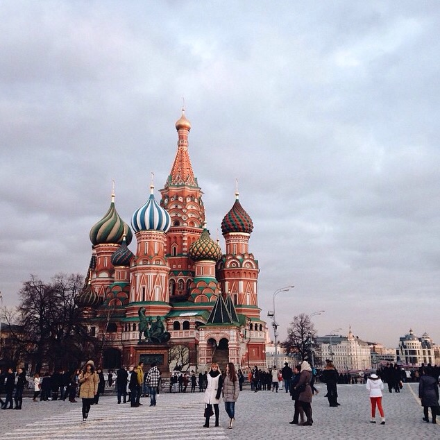 Moscow Tours: Photo Tour in Moscow. St.Basil's Cathedral on Red Square