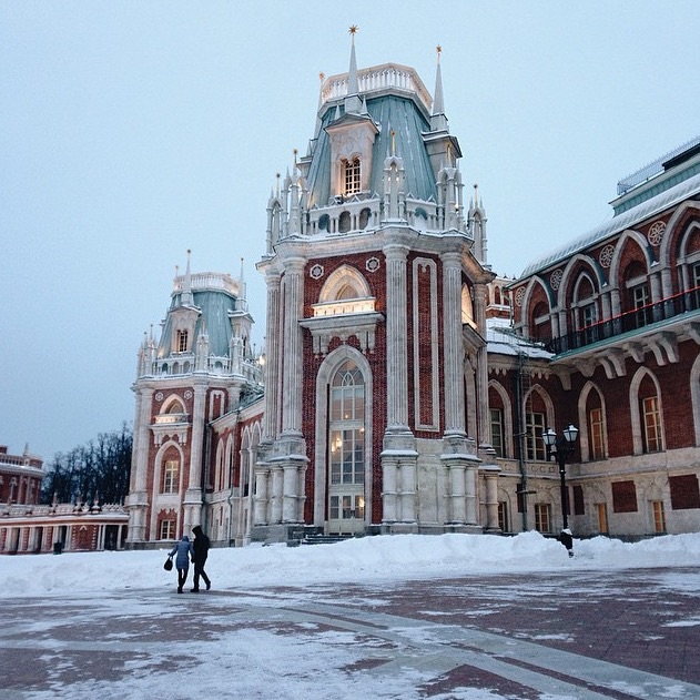 Moscow Tours: Photo Tour in Moscow. Tsaritsino Park