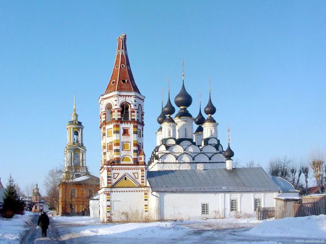 Russian Holidays. Golden Ring. Suzdal.