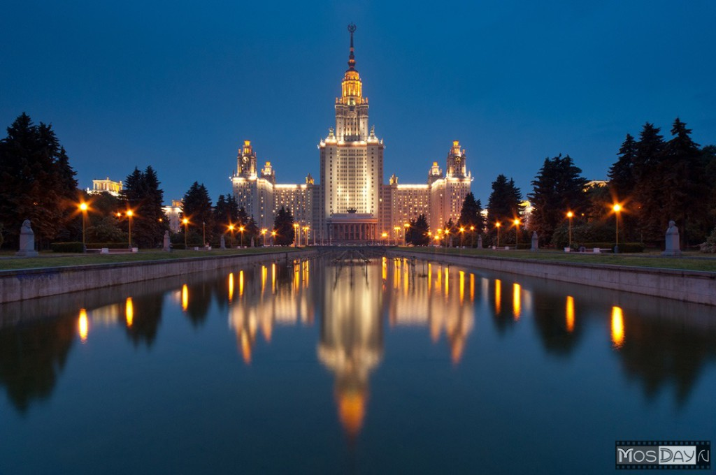Most beautiful places in Moscow
