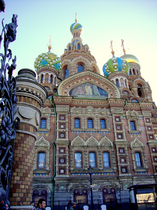 10 must see places in Saint Petersburg. Church on Spilled Blood