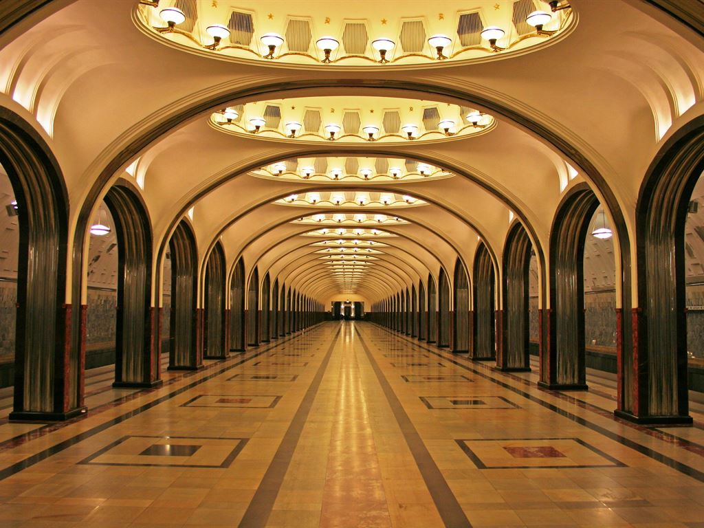 most beautiful metro station sin Europe