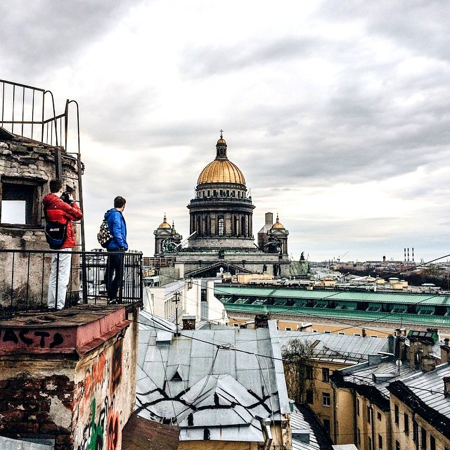 Rooftop, Saint Petersburg