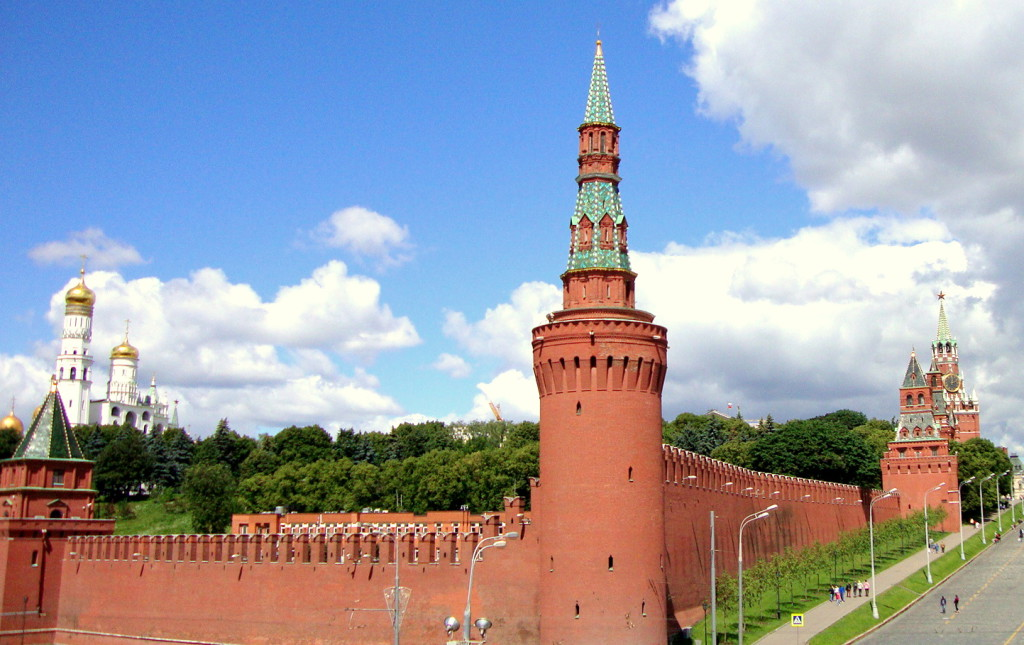 Kremlin towers and Kremlin walls