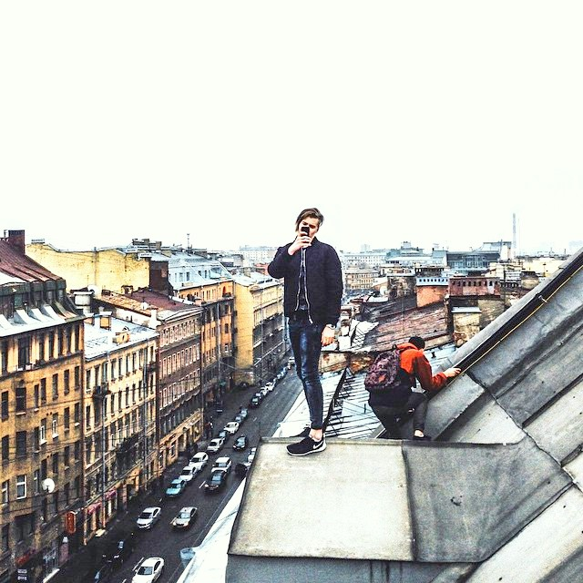 Private rooftop guide in St Petersburg