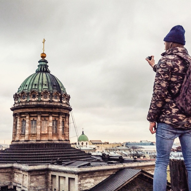 St Petersburg observation platform