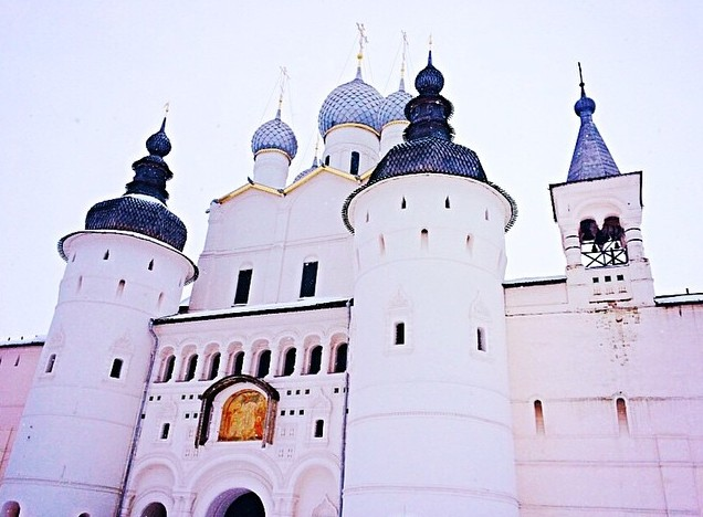 White stone Kremlin of Rostov The Great