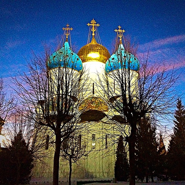 Sergiev posad town, Golden Ring tour