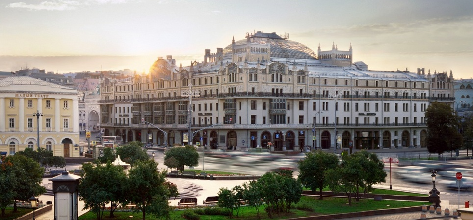 Hotel Metropol - most historic hotel in Moscow