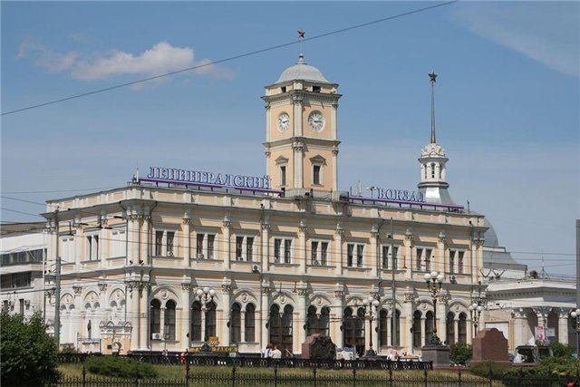 Hidden gems of Moscow - Leningradskaya Train Station