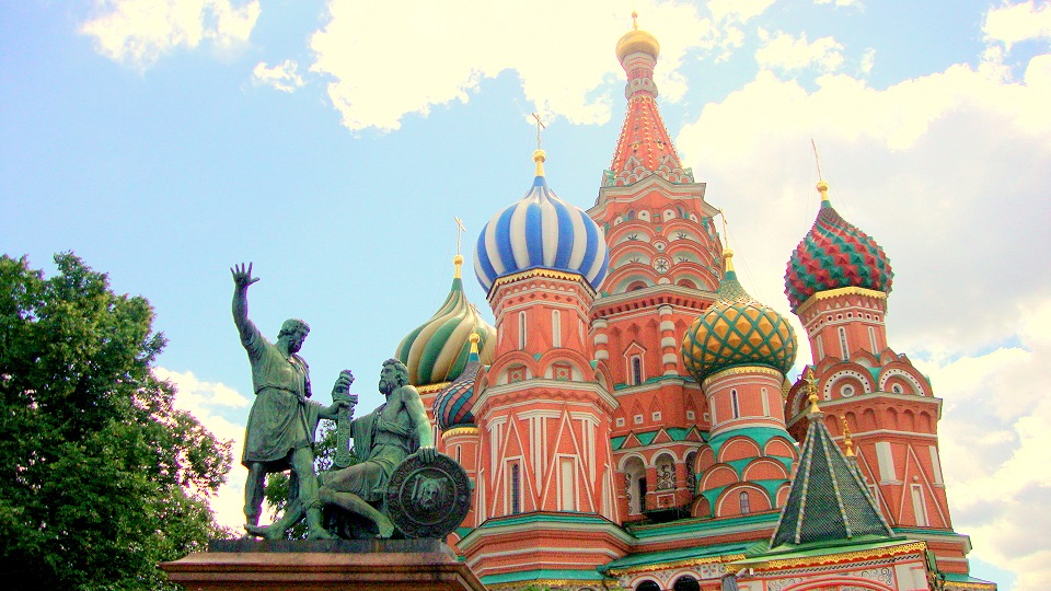 Moscow must see - St Basils Cathedral