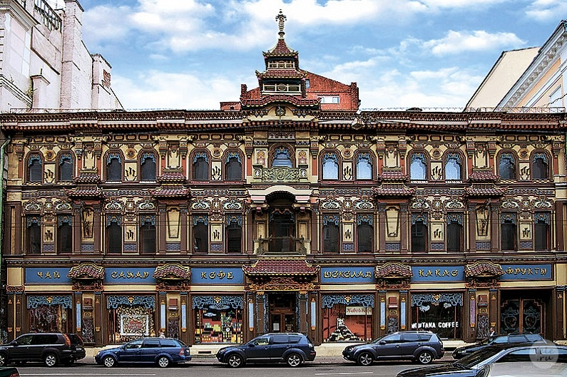 Oriental places in Moscow - Tea House