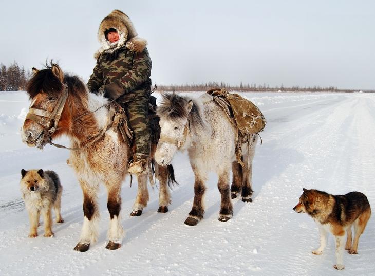 Siberia Russia - ethnic costumes