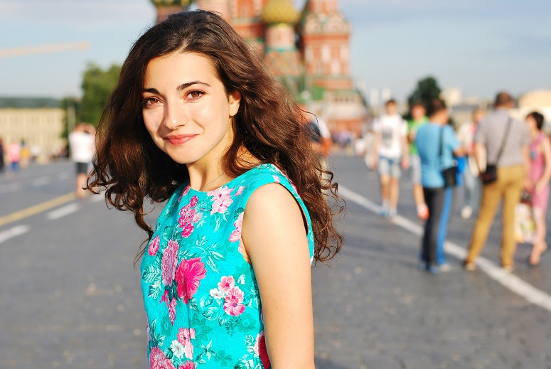Beautiful private guide in Moscow