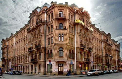 Saint Petersburg architectural tour