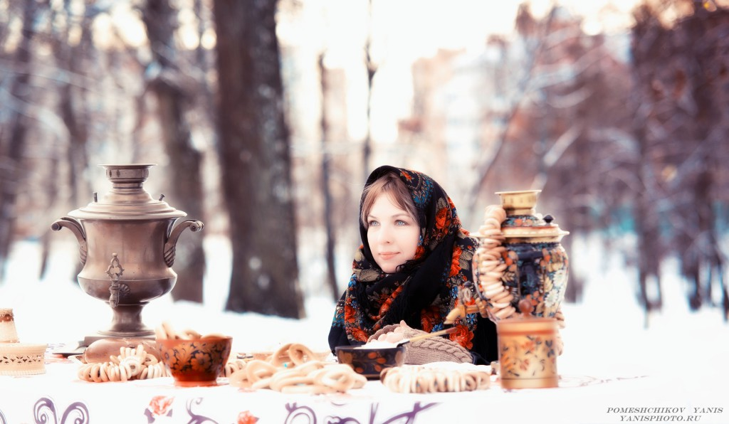 Russian traditions, Moscow tour in winter