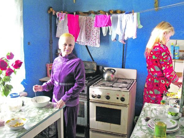Russian poor life