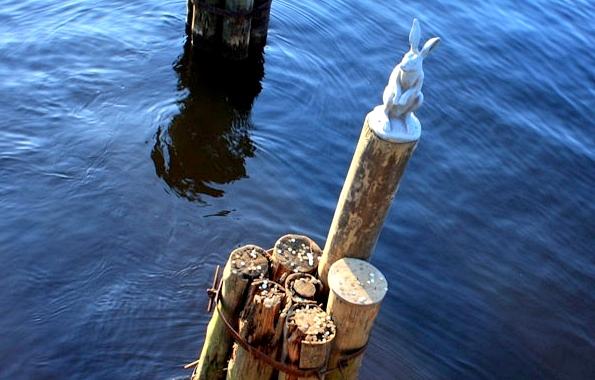 Unusual monument in St Petersburg