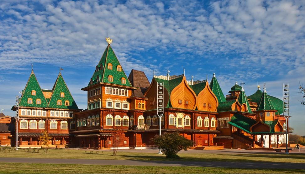 Palace of Tsar Alexey in Kolomenskoe Park, Moscow