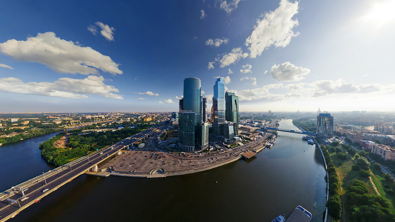 Moscow City skyscrapers, observation tour