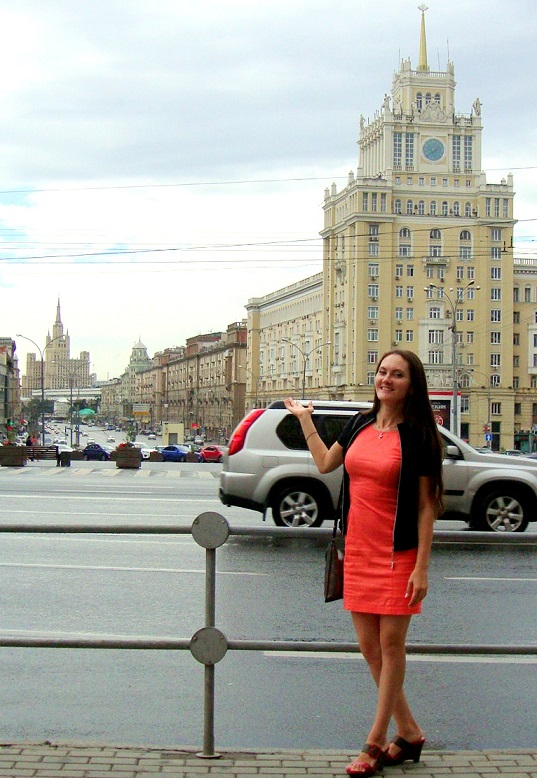 Main street of Moscow - Tverskaya. Private tour of Moscow with your own friendly guide