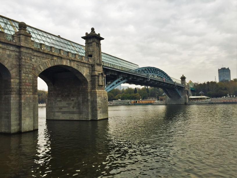 what to do in msocow - moscow walking bridges