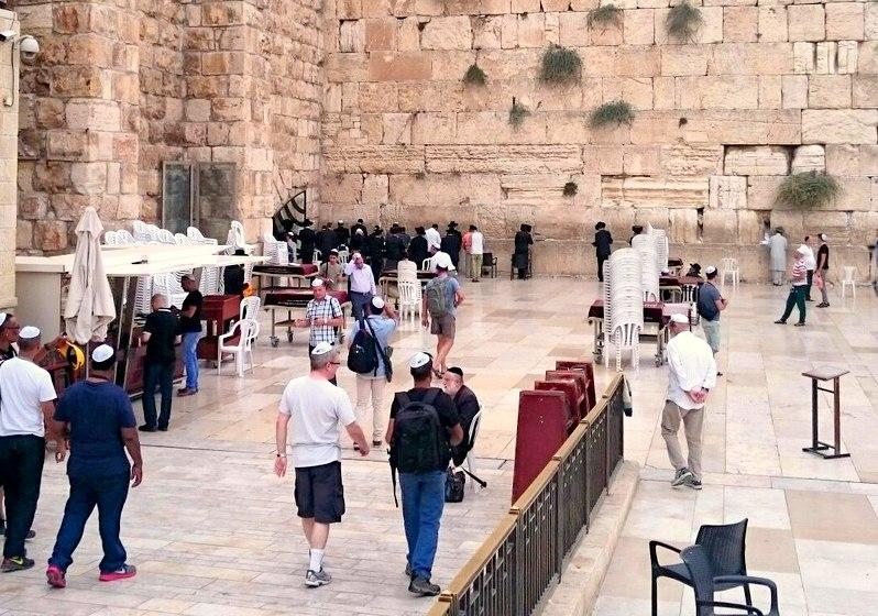Exploring Israel sights