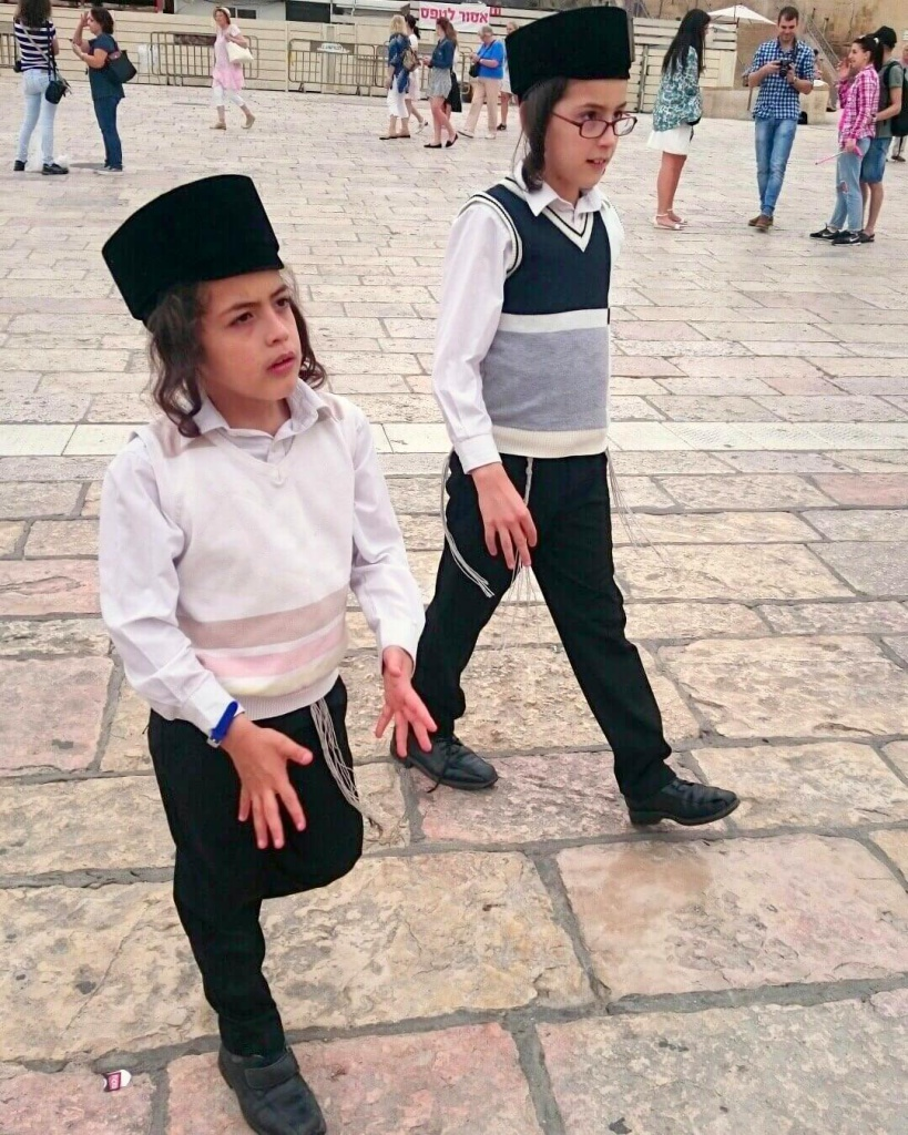 Local kids in Israel