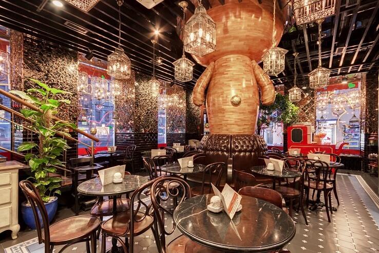 Oriental, Chinese, Vietnamese, Thai cafe in St Petersburg
