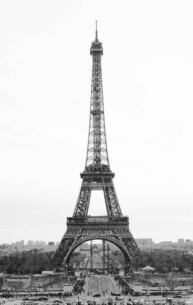 facts about Paris and Eiffel tower