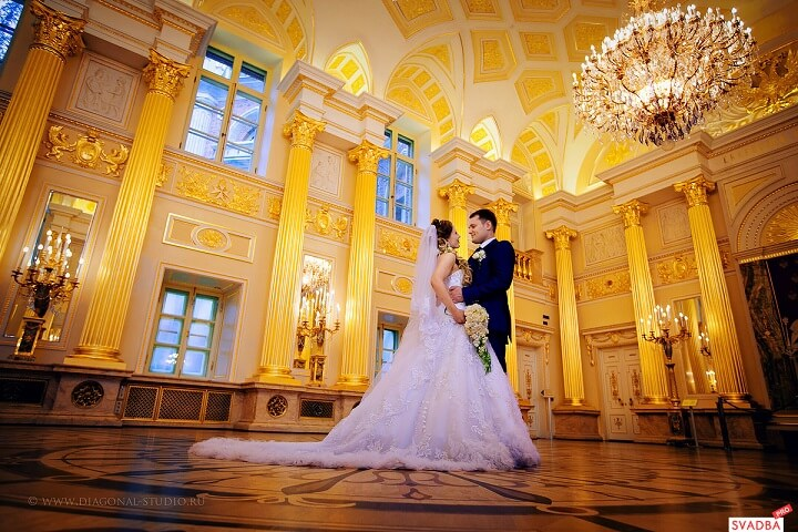Wedding in Tsaritsyno, Moscow