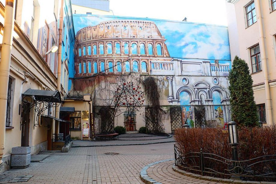 Saint-Petersburg street art